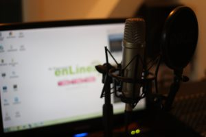grabar un podcast