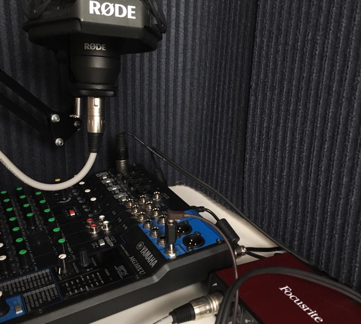 material para un podcast